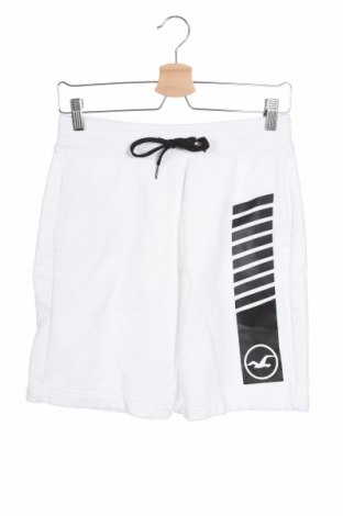 Ανδρικό κοντό παντελόνι Hollister, Μέγεθος XS, Χρώμα Λευκό, 70% βαμβάκι, 30% πολυεστέρας, Τιμή 9,26€