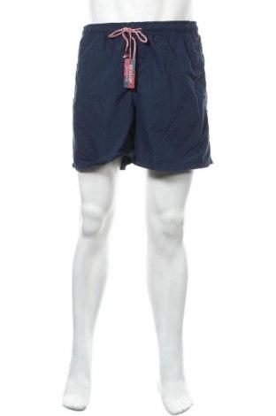 Мъжки къс панталон Seaside, Размер L, Цвят Син, Полиестер, Цена 31,24лв.