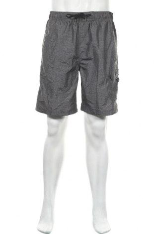 Мъжки къс панталон Speedo, Размер L, Цвят Сив, Полиестер, Цена 19,95лв.