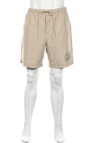 Мъжки къс панталон Atlas For Men, Размер XL, Цвят Бежов, Полиестер, Цена 6,30лв.