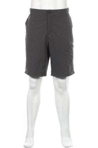 Ανδρικό κοντό παντελόνι ZeroXposur, Μέγεθος XL, Χρώμα Γκρί, 93% πολυεστέρας, 7% ελαστάνη, Τιμή 14,29€