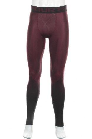Pánské legíny  Under Armour, Velikost M, Barva Červená, 79% polyamide, 21% elastan, Cena  1037,00Kč