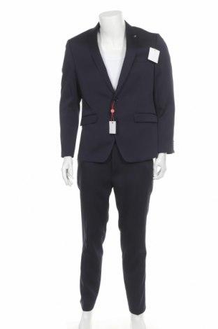 Ανδρικό κοστούμι Bruno Banani, Μέγεθος M, Χρώμα Μπλέ, 84% πολυεστέρας, 14% βισκόζη, 2% ελαστάνη, Τιμή 57,76€