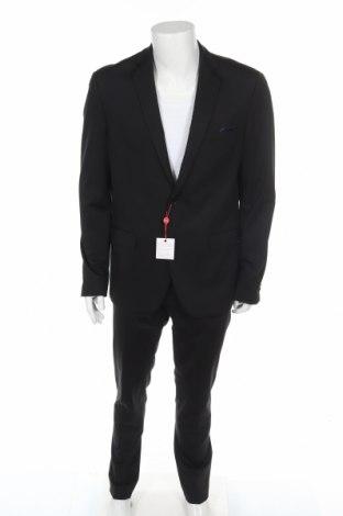 Costum de bărbați Bruno Banani, Mărime L, Culoare Negru, 94% poliamidă, 6% elastan, Preț 249,67 Lei