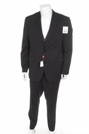 Мъжки костюм Class International, Размер L, Цвят Черен, 83% полиестер, 15% вискоза, 2% еластан, Цена 68,16лв.