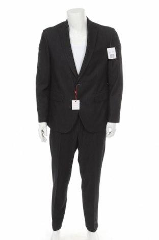Costum de bărbați Man's World, Mărime L, Culoare Negru, 78% poliester, 18% viscoză, 4% elastan, Preț 177,89 Lei