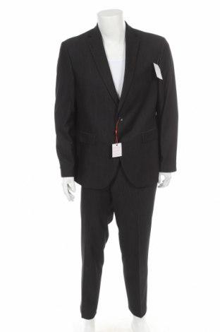 Мъжки костюм Man's World, Размер XL, Цвят Черен, 78% полиестер, 18% вискоза, 4% еластан, Цена 70,98лв.