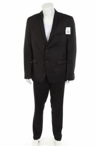 Ανδρικό κοστούμι Thomas Goodwin, Μέγεθος XL, Χρώμα Μαύρο, 85% πολυεστέρας, 13% βισκόζη, 2% ελαστάνη, Τιμή 38,97€