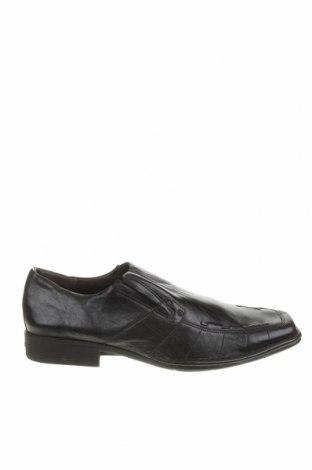 Мъжки обувки, Размер 49, Цвят Черен, Естествена кожа, Цена 75,60лв.