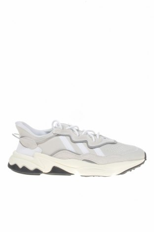 Мъжки обувки Adidas, Размер 45, Цвят Сив, Естествен велур, текстил, Цена 141,75лв.