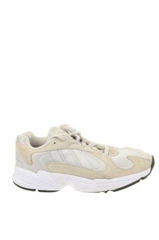 Мъжки обувки Adidas Originals, Размер 42, Цвят Бежов, Естествен велур, текстил, еко кожа, Цена 54,00лв.