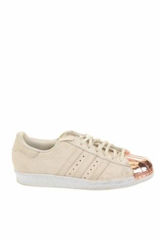 Мъжки обувки Adidas Originals, Размер 42, Цвят Бежов, Естествен велур, Цена 58,85лв.