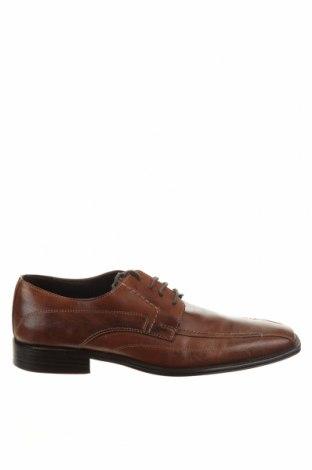 Мъжки обувки Bata, Размер 43, Цвят Кафяв, Естествена кожа, Цена 42,00лв.
