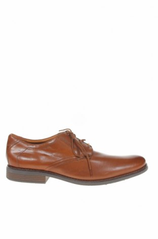 Мъжки обувки Clarks, Размер 45, Цвят Кафяв, Естествена кожа, Цена 61,95лв.