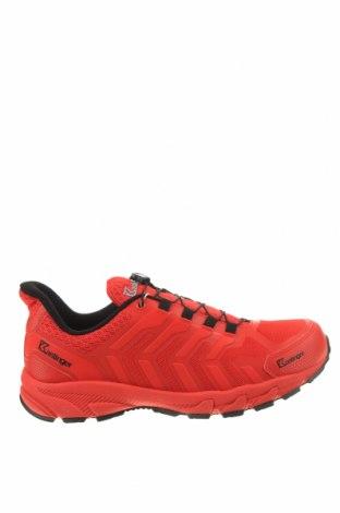 Мъжки обувки Kastinger, Размер 44, Цвят Червен, Текстил, еко кожа, Цена 126,75лв.