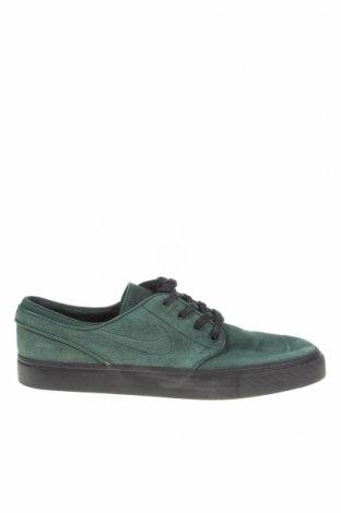 Мъжки обувки Nike, Размер 44, Цвят Зелен, Естествен велур, Цена 58,85лв.