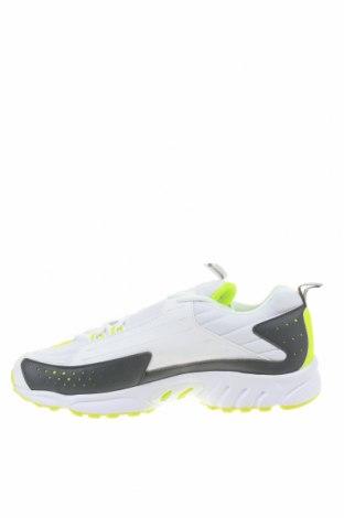 Мъжки обувки Reebok, Размер 45, Цвят Бял, Еко кожа, текстил, Цена 96,75лв.