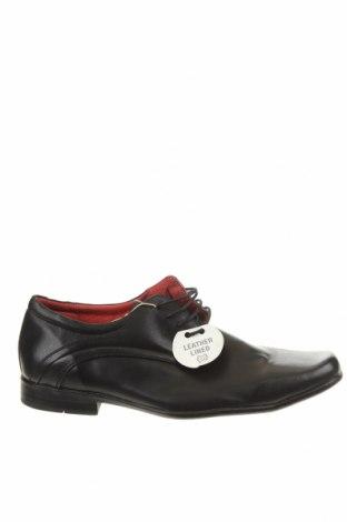 Мъжки обувки Rivers, Размер 48, Цвят Черен, Естествена кожа, Цена 86,78лв.