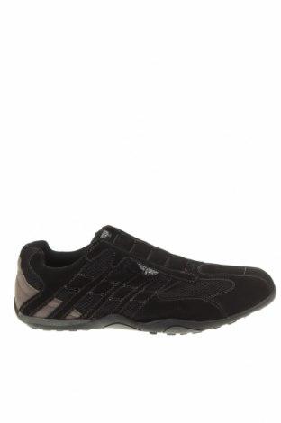 Мъжки обувки Rivers, Размер 45, Цвят Черен, Естествен велур, текстил, Цена 43,05лв.