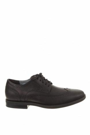 Мъжки обувки Timberland, Размер 43, Цвят Черен, Естествена кожа, Цена 210,97лв.