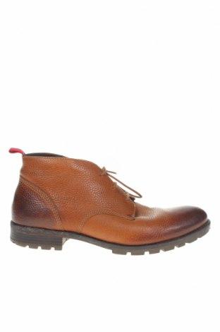 Ανδρικά παπούτσια Tommy Hilfiger, Μέγεθος 41, Χρώμα Καφέ, Γνήσιο δέρμα, Τιμή 44,54€