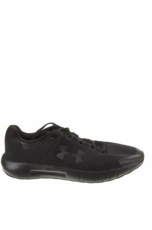 Мъжки обувки Under Armour, Размер 42, Цвят Черен, Текстил, Цена 66,15лв.