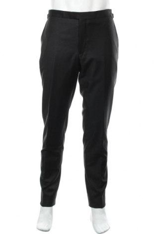 Мъжки панталон, Размер M, Цвят Черен, Вълна, Цена 15,04лв.