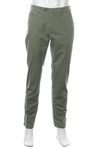 Ανδρικό παντελόνι Brax, Μέγεθος M, Χρώμα Πράσινο, 96% βαμβάκι, 4% ελαστάνη, Τιμή 30,72€