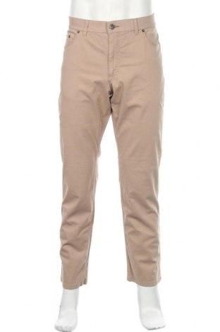 Ανδρικό παντελόνι Brax, Μέγεθος L, Χρώμα  Μπέζ, 96% βαμβάκι, 4% ελαστάνη, Τιμή 62,63€