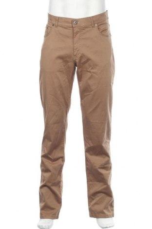 Ανδρικό παντελόνι Brax, Μέγεθος L, Χρώμα Καφέ, 97% βαμβάκι, 3% ελαστάνη, Τιμή 57,60€