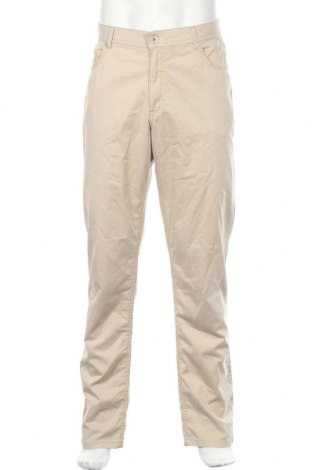 Ανδρικό παντελόνι Brax, Μέγεθος L, Χρώμα  Μπέζ, 97% βαμβάκι, 3% ελαστάνη, Τιμή 65,33€