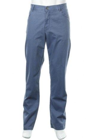 Ανδρικό παντελόνι Brax, Μέγεθος XL, Χρώμα Μπλέ, 96% βαμβάκι, 4% ελαστάνη, Τιμή 46,01€