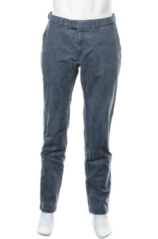 Ανδρικό παντελόνι Brax, Μέγεθος L, Χρώμα Μπλέ, 98% βαμβάκι, 2% ελαστάνη, Τιμή 44,54€