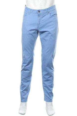 Ανδρικό παντελόνι Brax, Μέγεθος L, Χρώμα Μπλέ, 97% βαμβάκι, 3% ελαστάνη, Τιμή 57,60€