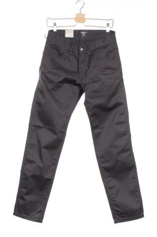 Мъжки панталон Carhartt, Размер S, Цвят Сив, Памук, полиестер, Цена 30,42лв.