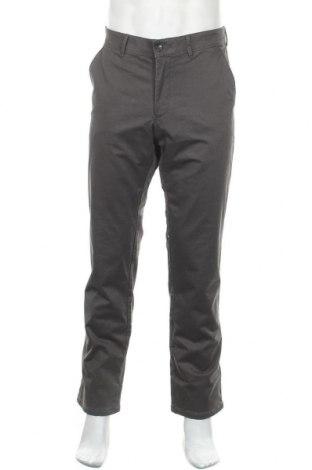 Мъжки панталон Christian Berg, Размер L, Цвят Кафяв, 97% памук, 3% еластан, Цена 25,20лв.