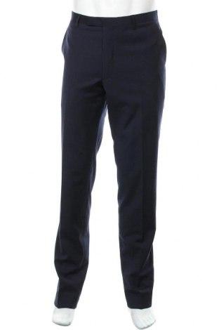 Ανδρικό παντελόνι Cinque, Μέγεθος XL, Χρώμα Μπλέ, 50% μαλλί, 48% πολυεστέρας, 2% ελαστάνη, Τιμή 62,74€