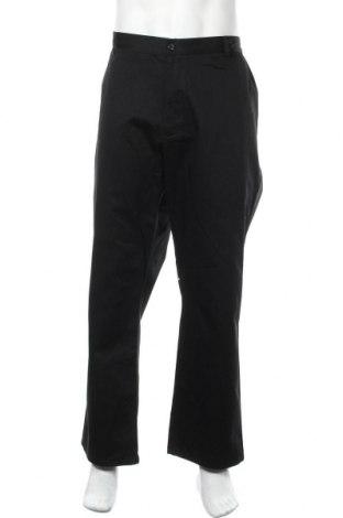 Ανδρικό παντελόνι Denver Hayes, Μέγεθος XXL, Χρώμα Μαύρο, 60% βαμβάκι, 40% πολυεστέρας, Τιμή 20,36€