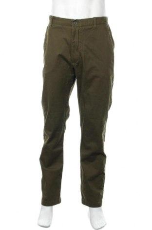 Ανδρικό παντελόνι Denver Hayes, Μέγεθος XL, Χρώμα Πράσινο, 98% βαμβάκι, 2% ελαστάνη, Τιμή 20,78€