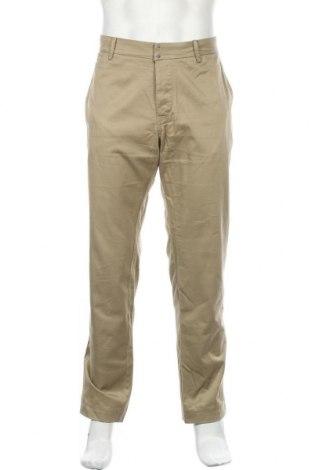 Ανδρικό παντελόνι Diesel, Μέγεθος L, Χρώμα Πράσινο, 98% βαμβάκι, 2% ελαστάνη, Τιμή 25,40€