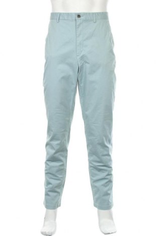 Ανδρικό παντελόνι H&M Conscious Collection, Μέγεθος XL, Χρώμα Μπλέ, 98% βαμβάκι, 2% ελαστάνη, Τιμή 16,37€