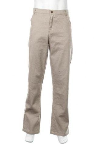 Ανδρικό παντελόνι John Baner, Μέγεθος XXL, Χρώμα  Μπέζ, 98% βαμβάκι, 2% ελαστάνη, Τιμή 16,37€