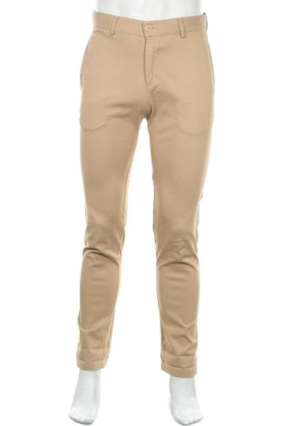 Ανδρικό παντελόνι Lacoste, Μέγεθος M, Χρώμα  Μπέζ, 97% βαμβάκι, 3% ελαστάνη, Τιμή 12,80€