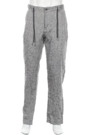 Ανδρικό παντελόνι McNeal, Μέγεθος XL, Χρώμα Γκρί, 100% λινό, Τιμή 26,68€