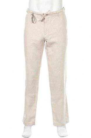 Ανδρικό παντελόνι McNeal, Μέγεθος XL, Χρώμα  Μπέζ, Λινό, Τιμή 37,11€