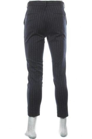 Pantaloni de bărbați New Look, Mărime S, Culoare Albastru, 70% poliester, 28% viscoză, 2% elastan, Preț 133,22 Lei