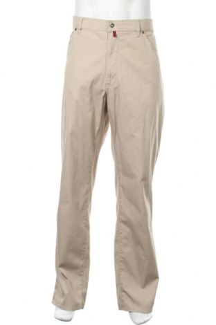 Мъжки панталон Pierre Cardin, Размер XXL, Цвят Бежов, 98% памук, 2% еластан, Цена 43,89лв.