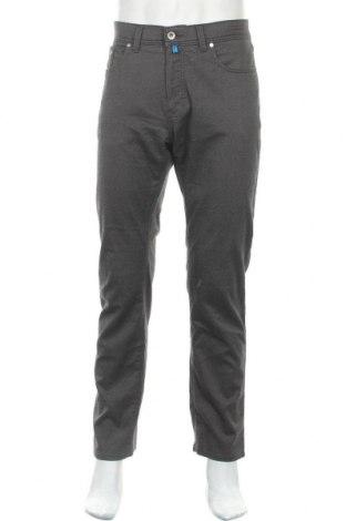 Мъжки панталон Pierre Cardin, Размер L, Цвят Сив, 54% памук, 29% полиестер, 15% вискоза, 2% еластан, Цена 38,22лв.
