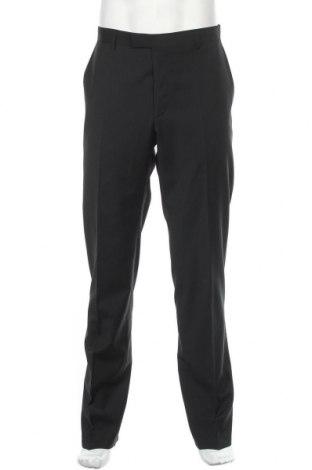Ανδρικό παντελόνι Strellson, Μέγεθος L, Χρώμα Μαύρο, 54% πολυεστέρας, 44% μαλλί, 2% ελαστάνη, Τιμή 76,94€
