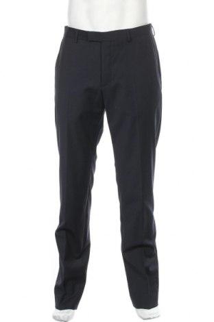 Ανδρικό παντελόνι Strellson, Μέγεθος M, Χρώμα Μπλέ, 54% πολυεστέρας, 44% μαλλί, 2% ελαστάνη, Τιμή 76,94€
